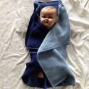 Håndstikkket babytæppe