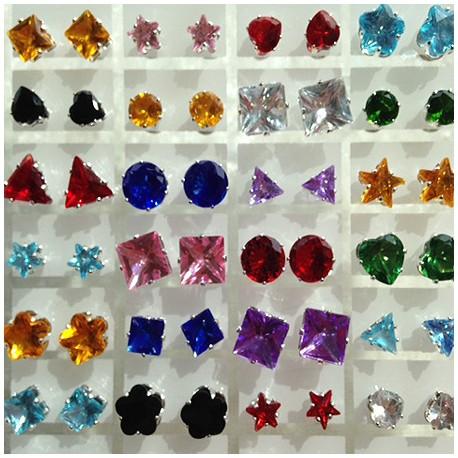 Øresticks i mange farver