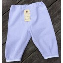 Lange bukser med blå/hvid tern